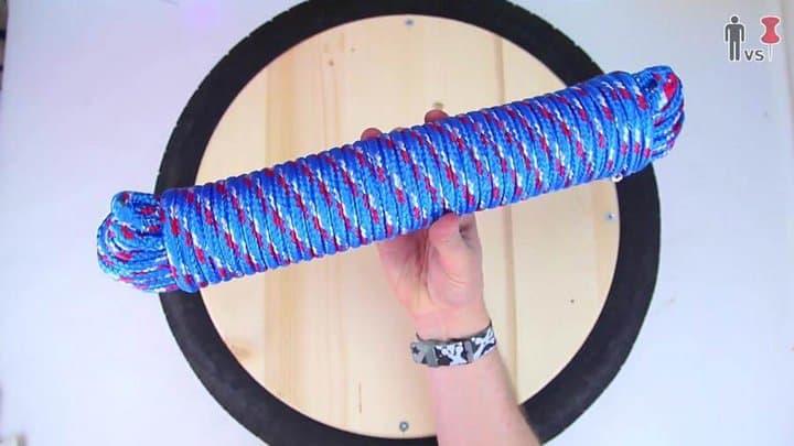 Hebra de cuerda texturizada