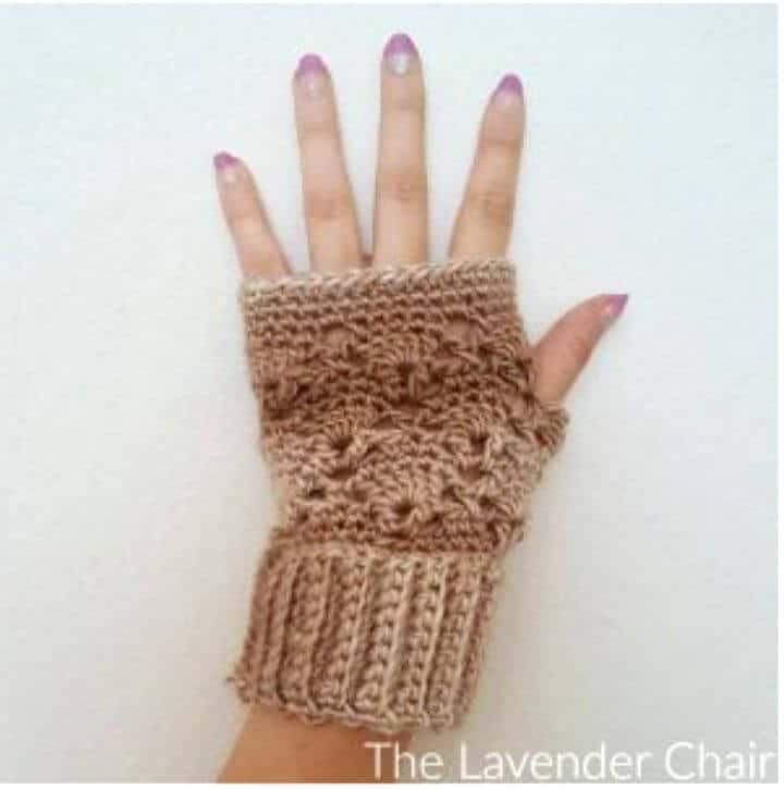 Cómo hacer guantes sin dedos vintage fáciles: patrón gratuito