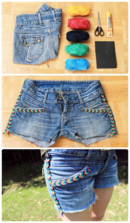 hermosos pantalones cortos indios