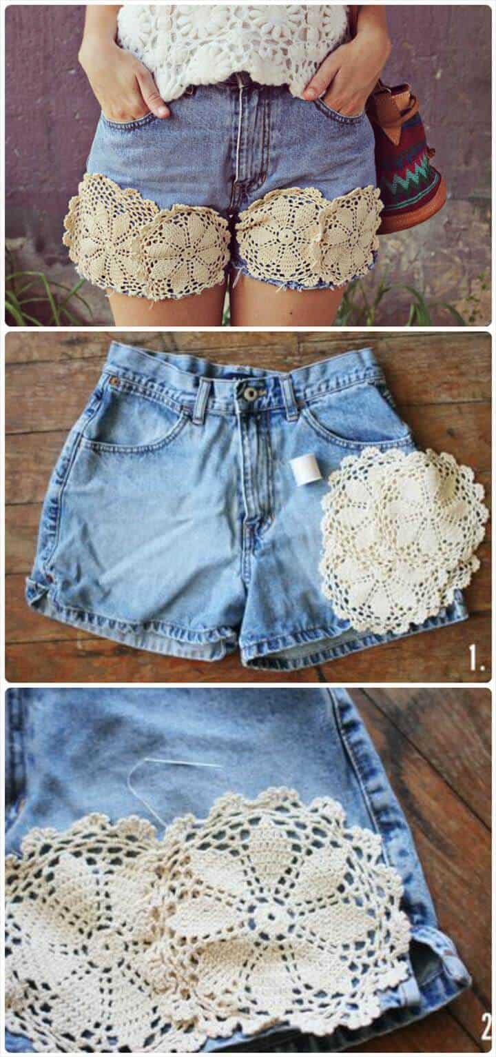 impresionantes pantalones cortos de verano tapete