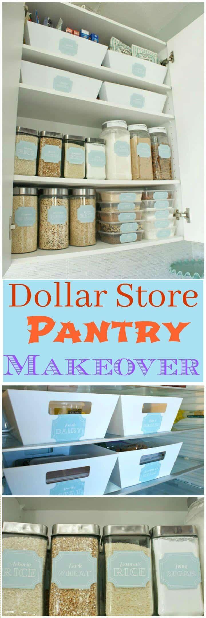 Cambio de imagen de la despensa de la tienda Dollar