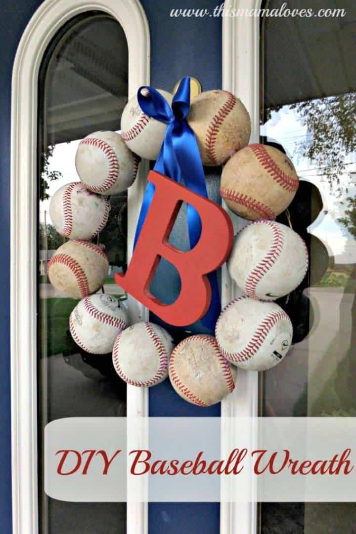 Hacer una corona de béisbol