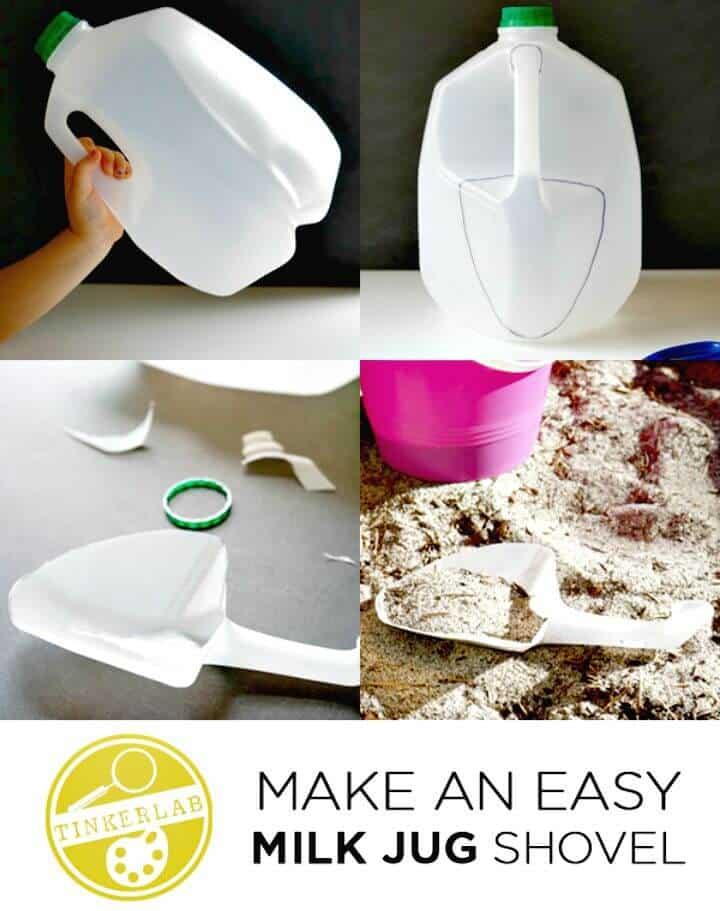 Haga su propia pala para jarra de leche - DIY