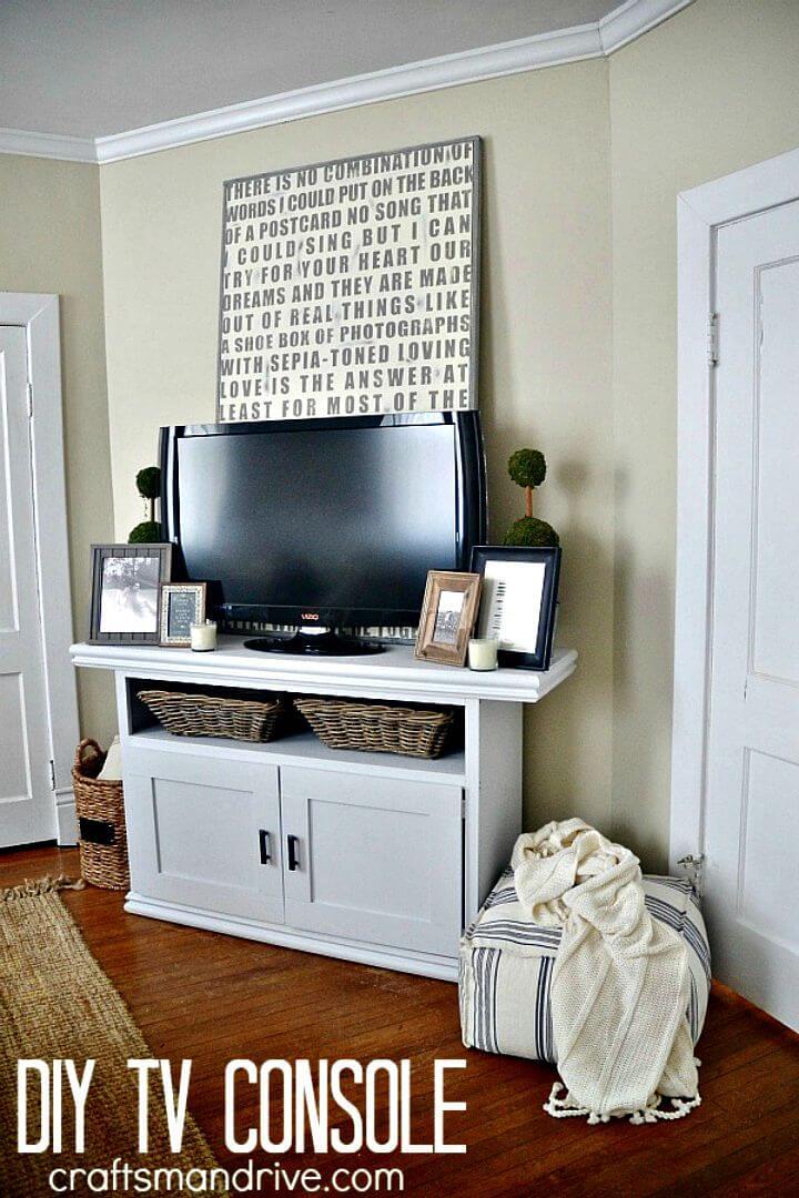 Tutorial fácil y simple de consola de TV de bricolaje