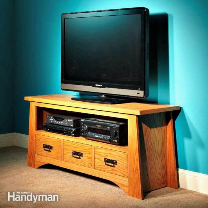 Tutorial paso a paso de soporte de TV de bricolaje fácil
