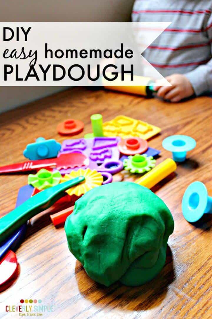 Plastilina fácil de hacer para niños