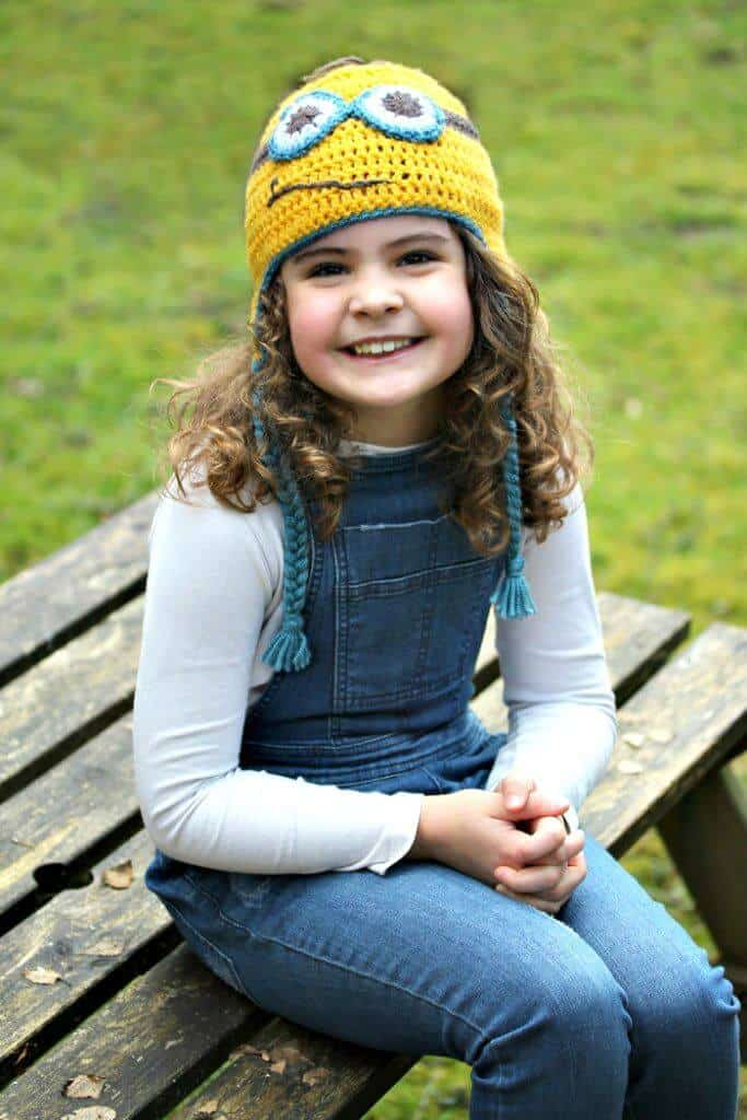 Patrón de sombrero de Minion de ganchillo fácil fácil
