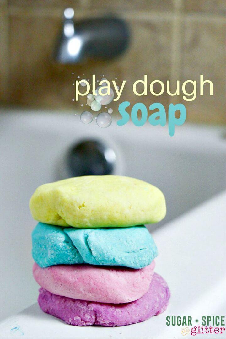 Receta de plastilina de jabón - DIY