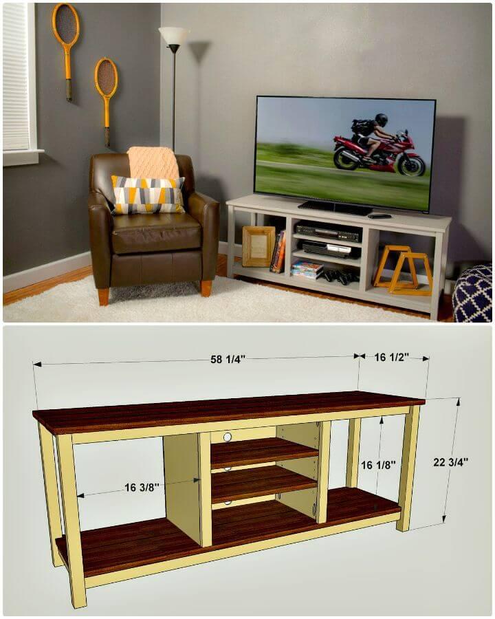 Tutorial fácil de cómo construir un soporte de TV