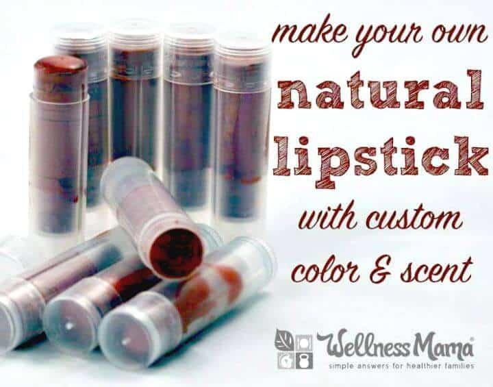 Natural Shimmer Lipstick Recipe - DIY