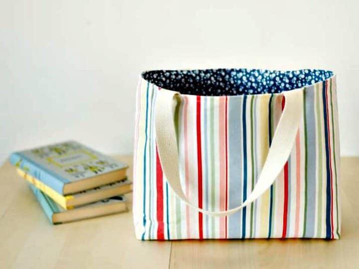 Cómo coser un bolso de mano forrado - Bricolaje
