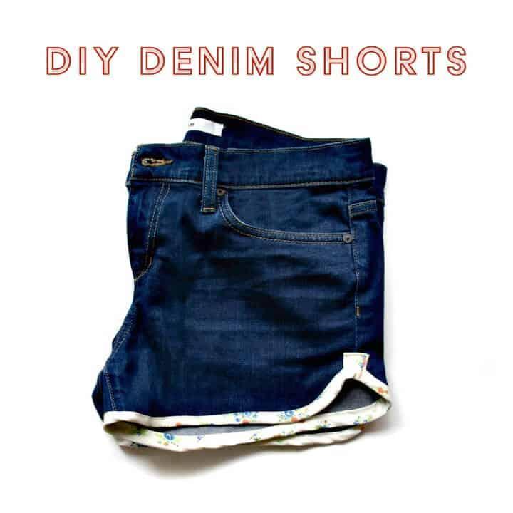 Pantalones cortos de mezclilla fáciles de hacer por ti mismo: atuendos para el verano