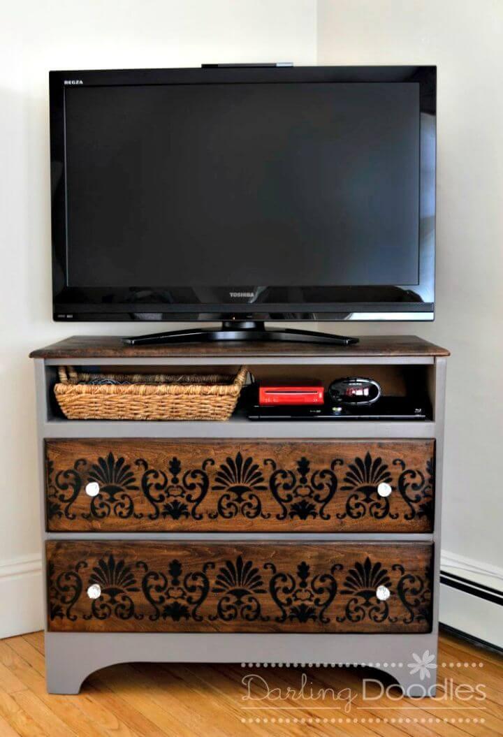 Tutorial de cambio de imagen de soporte de TV de bricolaje fácil y simple