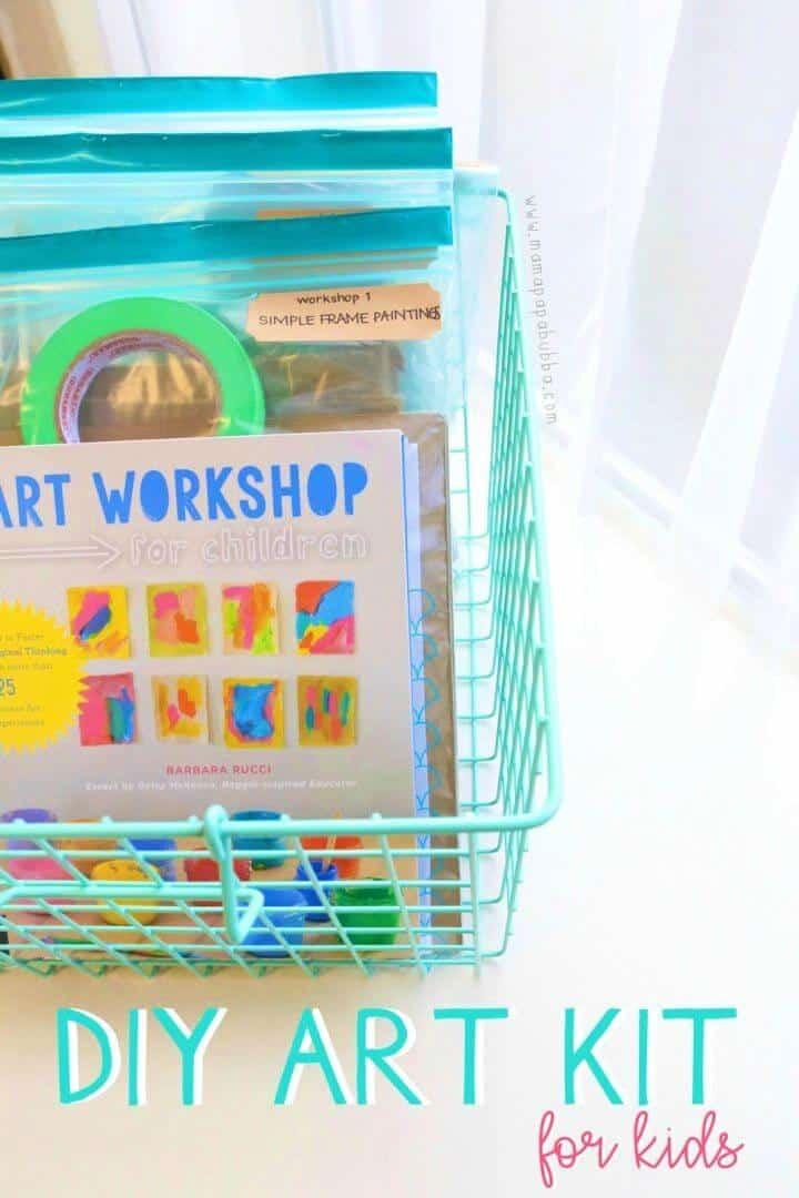 Kit de arte fácil de hacer para niños
