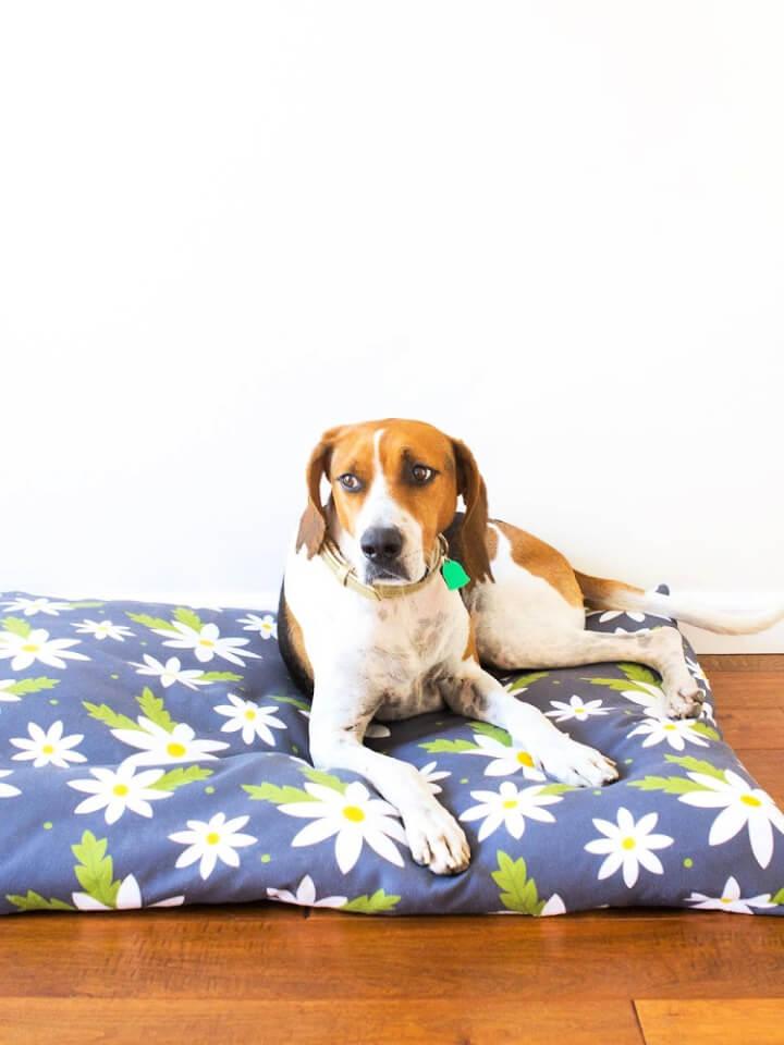 Funda de cama para perros con cremallera fácil de coser