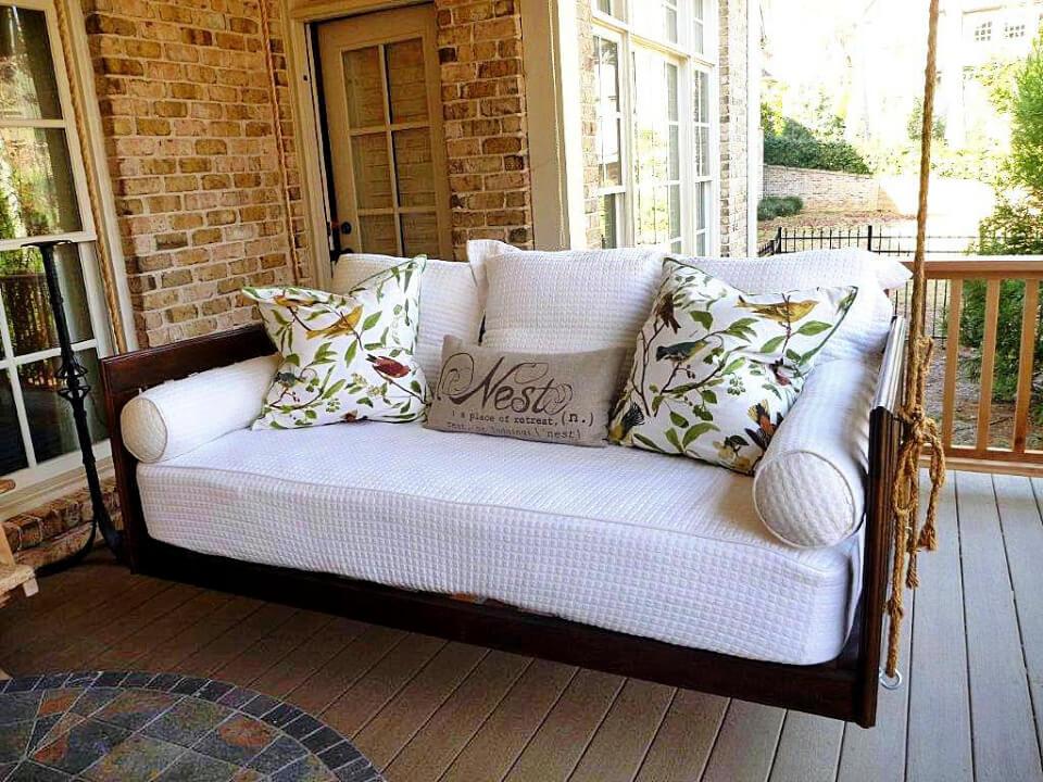 Colchón de espuma para sofá cama al aire libre