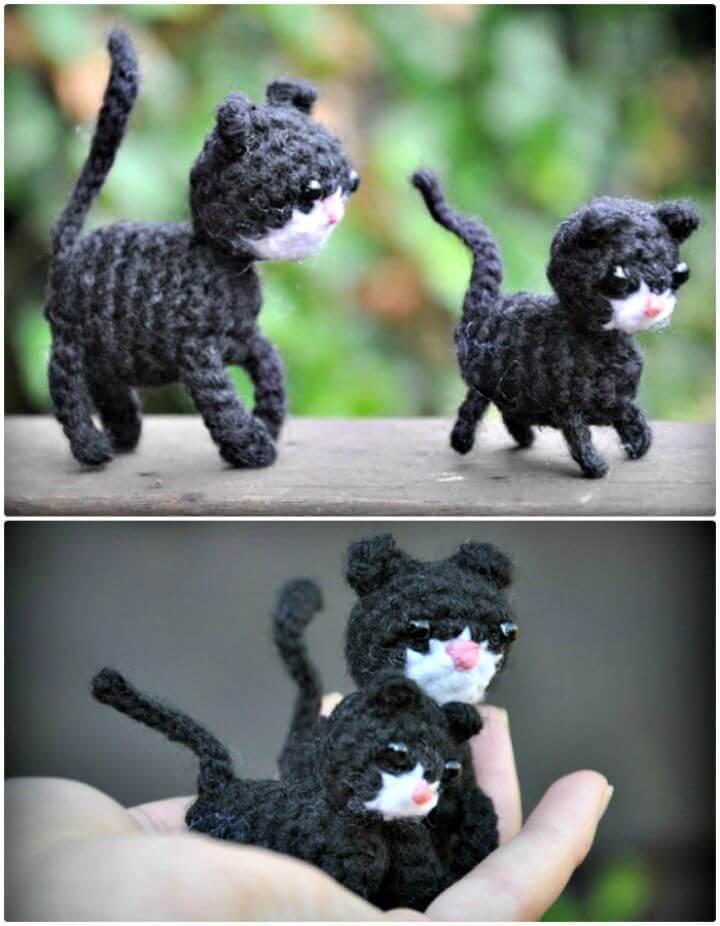 Cómo Hacer Patrones Amigurumi De Ganchillo Gratis Con Gatito