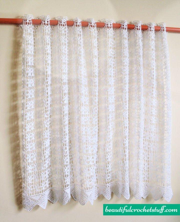 Patrón de cortina de ganchillo gratis