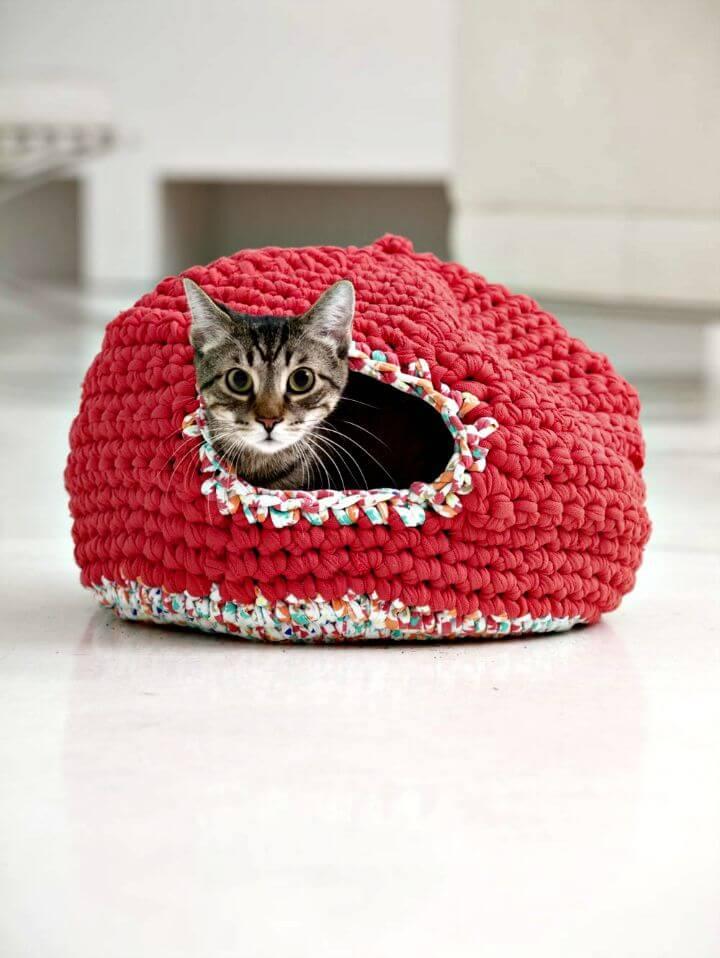Cómo liberar el patrón acogedor de Crochet Psy y Thai Kitty