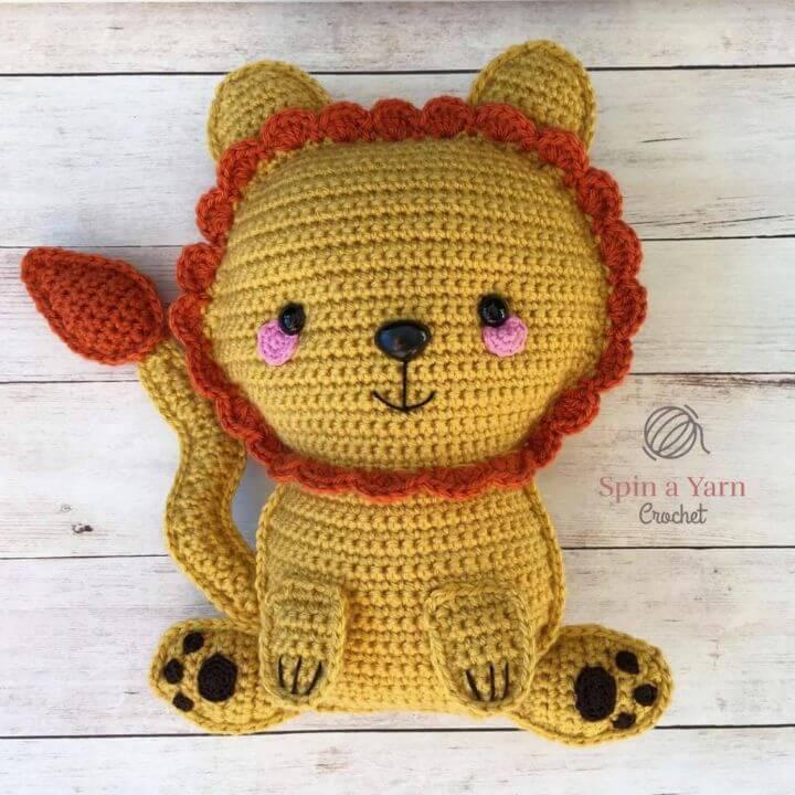 Cómo hacer un patrón de crochet Ragdoll Lion gratis