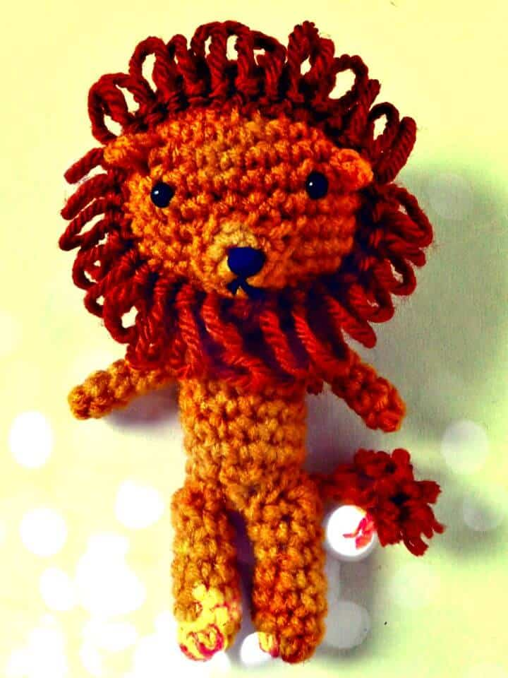 Cómo Crochet El Mago De Oz León Cobarde - Patrón Gratis