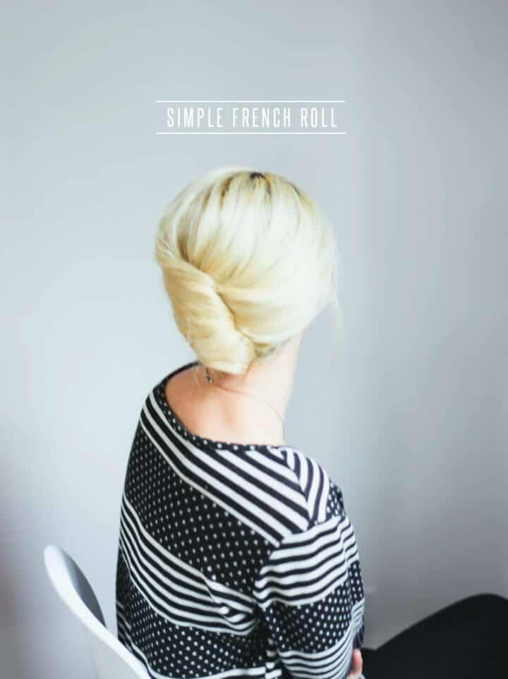 Tutorial de pelo de rollo francés