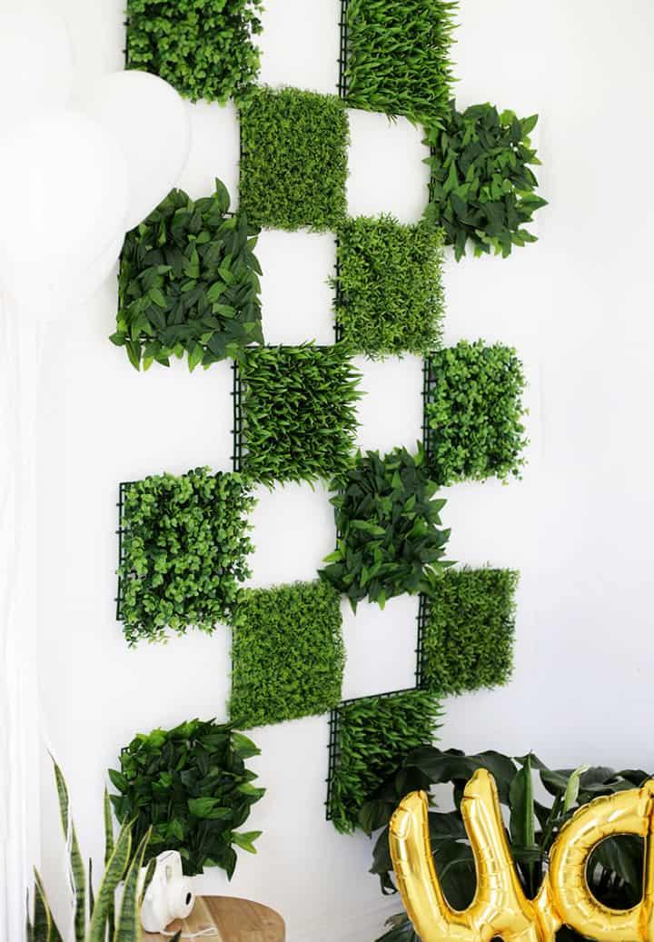 Telón de fondo de pared verde