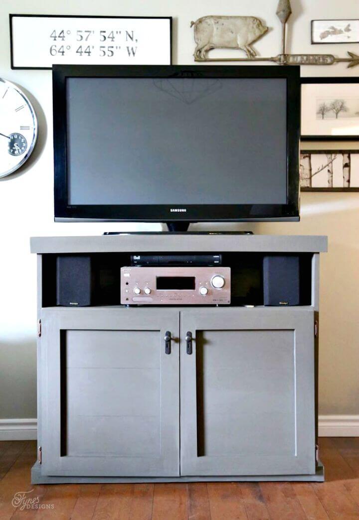 Construye tu propia consola de TV gris