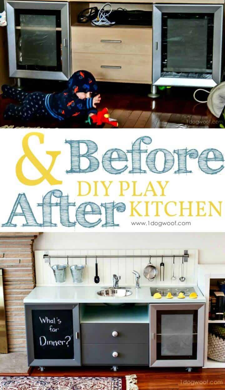 Cómo construir una cocina de juguete por menos de $ 90