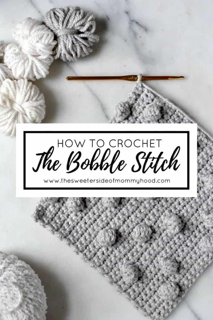 Crochet gratis fácil un patrón de puntada Bobble