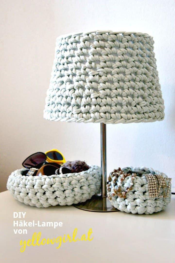 Patrón de pantalla de lámpara de ganchillo fácil fácil
