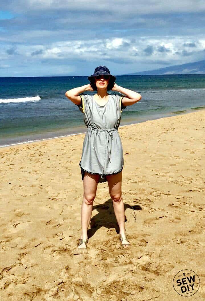 Cómo hacer un encubrimiento de playa