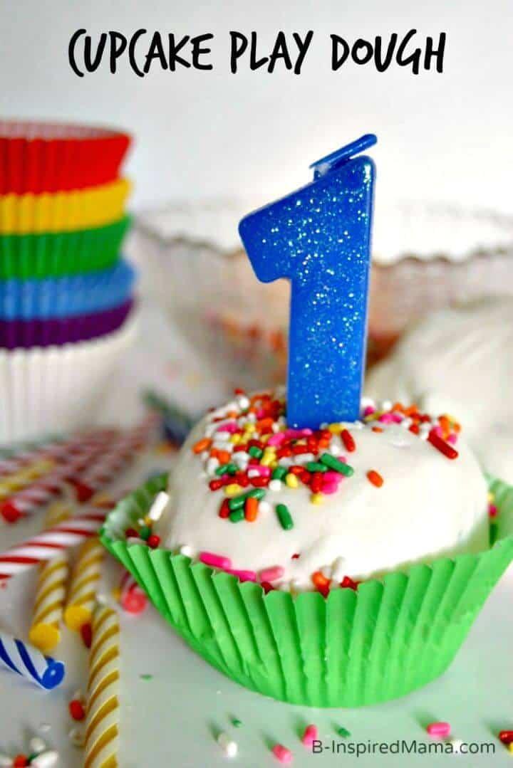 Receta de plastilina para cupcakes