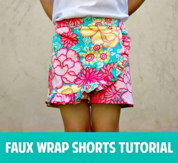 Cómo hacer pantalones cortos cruzados sintéticos: atuendos para el verano