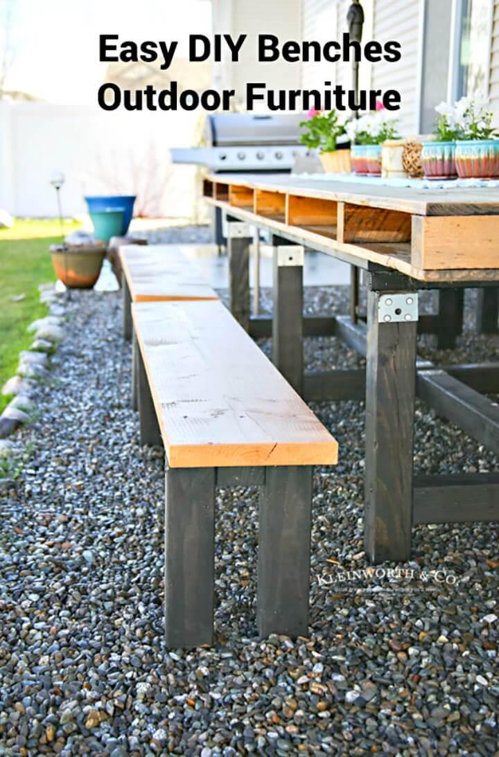 Cómo hacer bancos de jardín - Muebles de exterior - Bricolaje