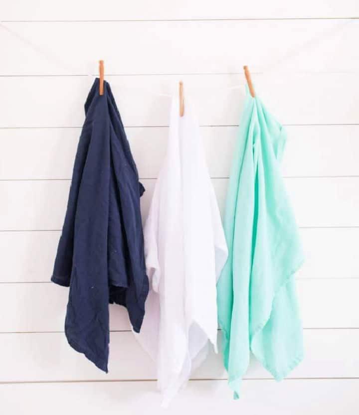 Cómo hacer mantas de muselina