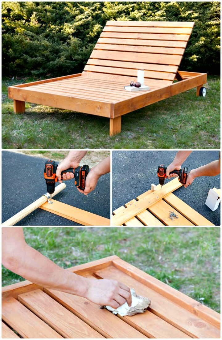 Cómo hacer un diván al aire libre - Bricolaje