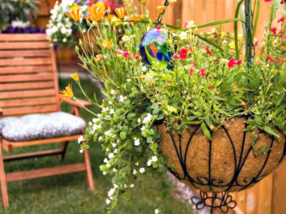 Cómo hacer cestas colgantes de plantas - DIY