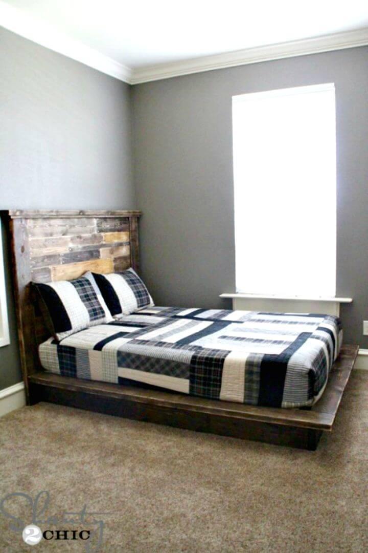 Construya su propia cama con plataforma - bricolaje