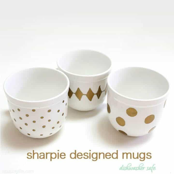 Cómo hacer tazas de café con Sharpie