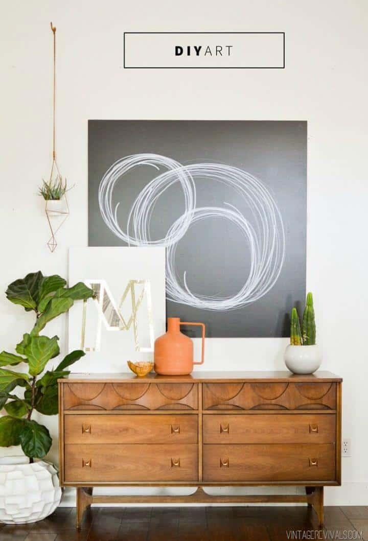 Cómo hacer arte de pared con Sharpie - Bricolaje