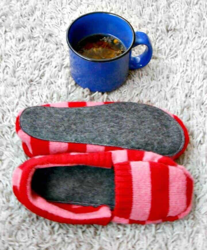 Cómo hacer pantuflas recicladas