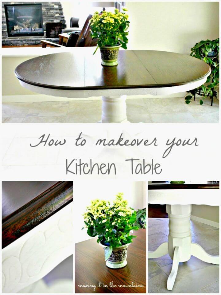 Cómo renovar la mesa de tu cocina