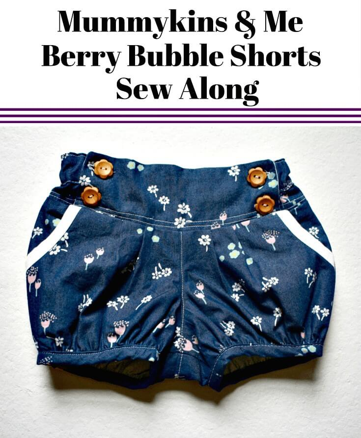 Cómo coser pantalones cortos de burbujas de bayas - bricolaje