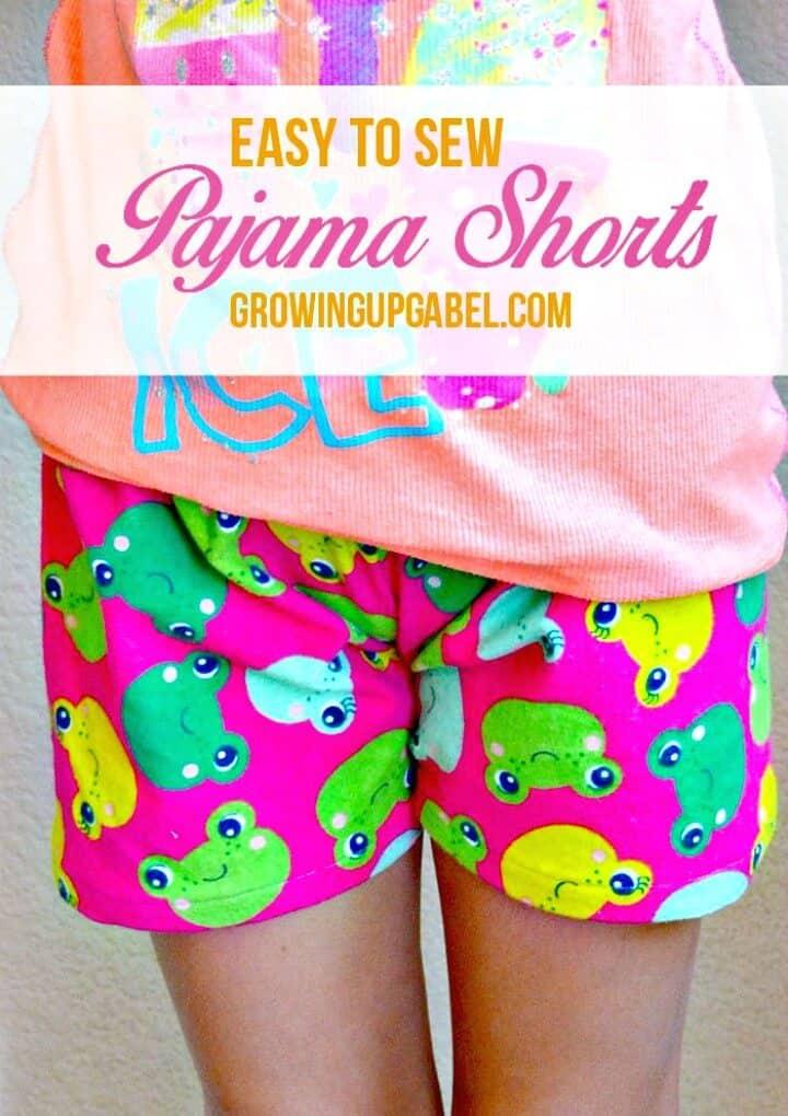 Cómo coser pantalones cortos de pijama para el verano