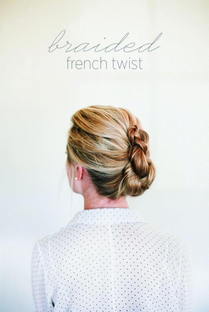 Cómo trenzar un toque francés