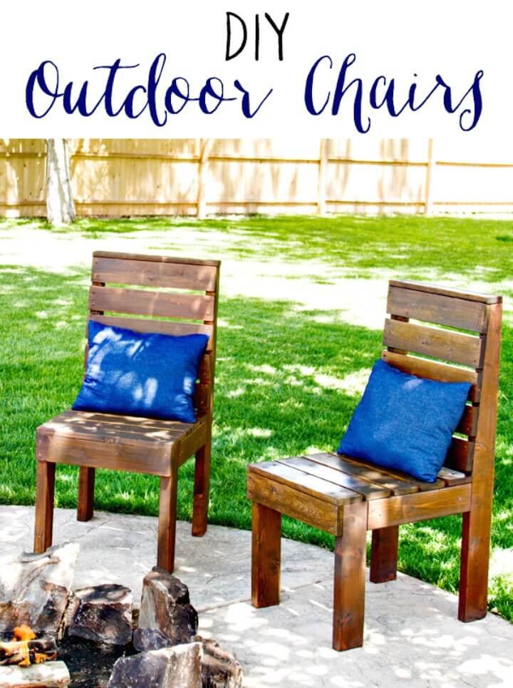 Cómo construir sillas de jardín al aire libre - Ideas de muebles de bricolaje