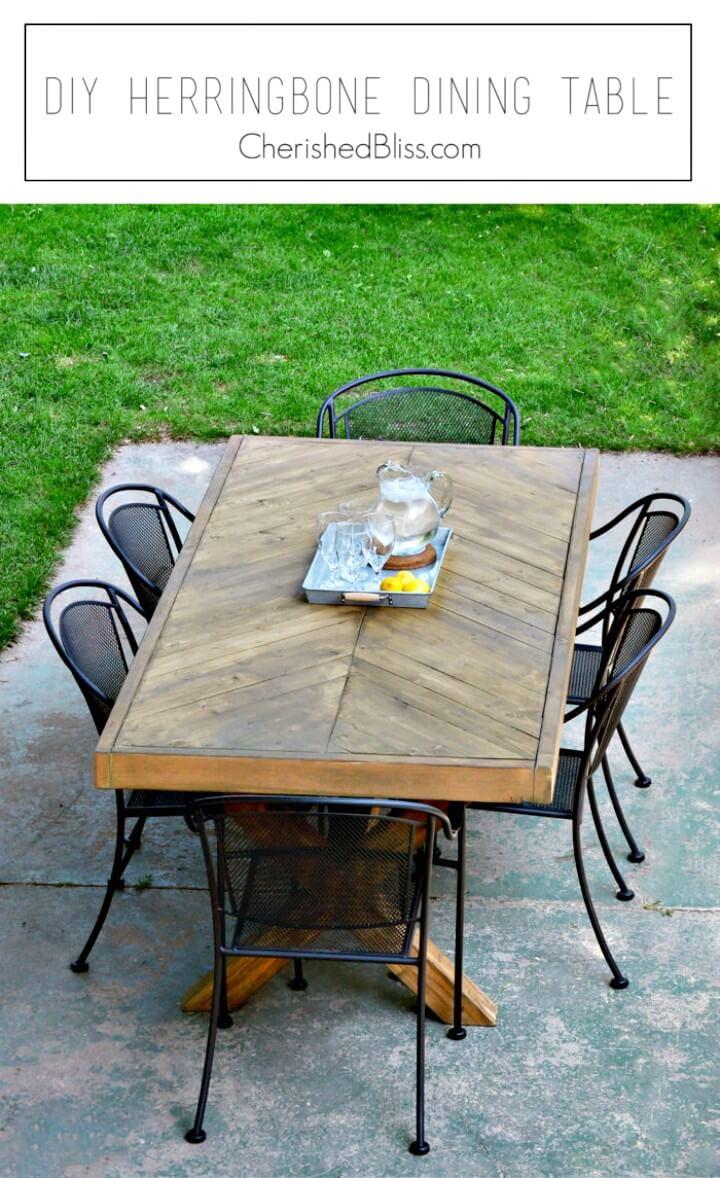 Cómo construir una mesa de jardín al aire libre - Bricolaje