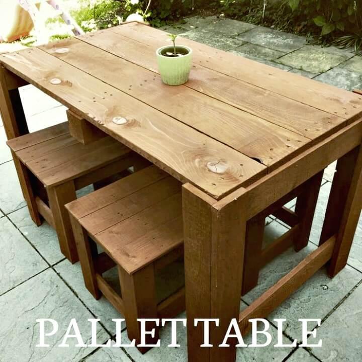 Cómo construir muebles de jardín de paletas - Bricolaje