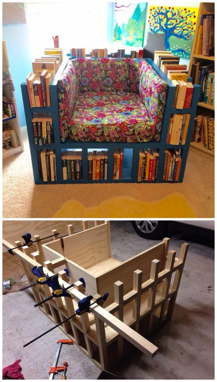 Cómo construir una silla de estantería